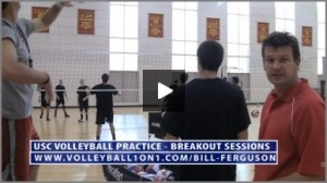 Bill Ferguson Team Breakout Sessions - Volleyball Serve Receive Drill