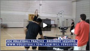 Bill Ferguson Team Breakout Sessions Volleyball Setting Drills