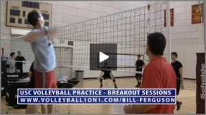 Bill Ferguson Team Stations - Area 1 Volleyball Defense Drill
