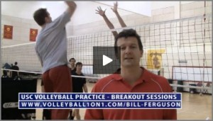 Bill Ferguson Team Stations - Area 4 Volleyball Blocking Drill