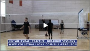 Bill Ferguson Team Stations - Middle and Libero Volleyball Setting Drills