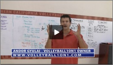 Bill Ferguson USC Volleyball Warm Up & Andor Introduction to Practice