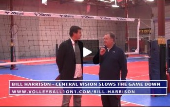 Bill Harrison - Central Vision Slows the Game Down