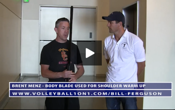 Body Blade for Shoulder Warm Up