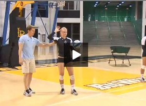 Brian Gimmillaro Learn to Play Volleyball - Serving