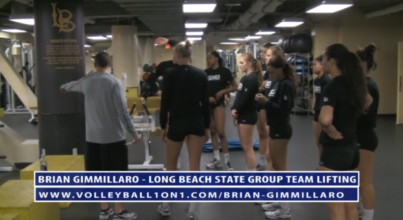 Brian Gimmillaro Long Beach State Team Lifting