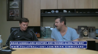 Brian Gimmillaro Volleyball Mentors and Friends along the Way