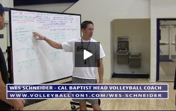 Cal Baptist Mens Volleyball Practice Introduction to Team