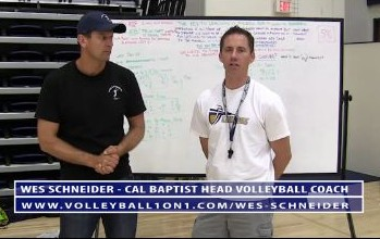 Cal Baptist Mens Volleyball Practice Outline with Coach Wes Schneider