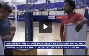 Chris Austin Take Advantage Of Over Pass Drill - Hit Around, Swipe, Tool