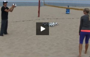 Coaching Moving to Attack from Serve Receive for Beach Volleyball with Stein Metzger