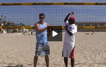 Coaching Beach Volleyball Spiking Technique Reviewed with Andor Gyulai and Steve Anderson