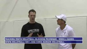 Coaching-Youth-Volleyball-Blocking-Technique---Video-2---Hands