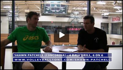 Conversation From Office - 4 Ball Volleyball Drill, 6 on 6 Discussed