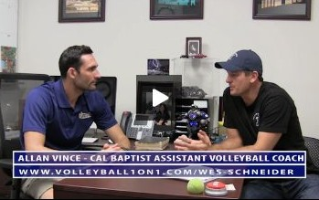 Conversations from the Office - Allan Vince, Cal Baptist University Mens Volleyball Assistant Coach