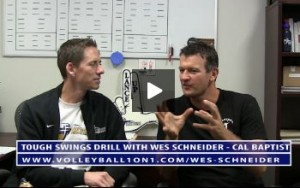 Conversations from the Office - Tough Swings Volleyball Drill