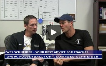 Conversations from the Office - Wes Schneider Best Advice For Volleyball Coaches