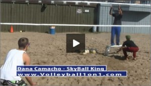 Dana Camacho Beach Volleyball Practice Plan 1 Game Situation II