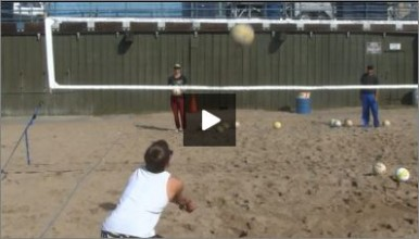 Dana Camacho Beach Volleyball Practice Plan 1 Passing Drill I