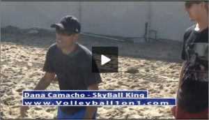 Dana Camacho Beach Volleyball Practice Plan 1 Passing Drill II