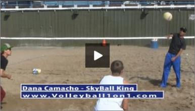 Dana Camacho Beach Volleyball Practice Plan 1 Triangle Drill