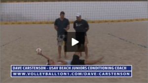 Dave Carstenson Beach Volleyball Core Ab Exercises Ground II