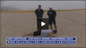Dave Carstenson Beach Volleyball Core Ab Exercises Ground IV