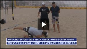 Dave Carstenson Beach Volleyball Core Ab Exercises Ground IX