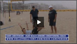 Dave Carstenson Beach Volleyball Core Ab Exercises Ground VII
