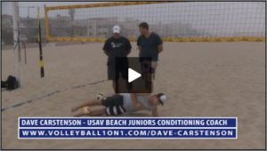 Dave Carstenson Beach Volleyball Core Ab Exercises Ground XI