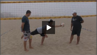 Dave Carstenson Beach Volleyball Core Ab Exercises Standing II