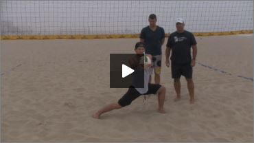 Dave Carstenson Beach Volleyball Core Ab Exercises Standing III