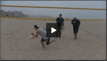 Dave Carstenson Beach Volleyball Plyometrics Movement Balance I