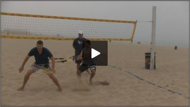 Dave Carstenson Beach Volleyball Plyometrics Movement Balance III