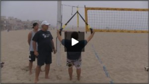 Dave Carstenson Beach Volleyball TRX Exercises I