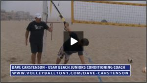 Dave Carstenson Beach Volleyball TRX Exercises II
