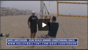 Dave Carstenson Beach Volleyball TRX Exercises III