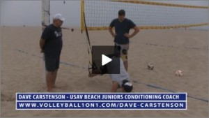 Dave Carstenson Beach Volleyball TRX Exercises IV