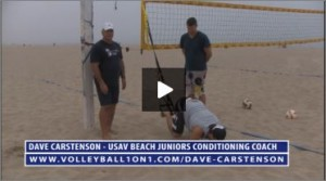 Dave Carstenson Beach Volleyball TRX Exercises V