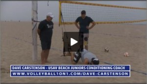 Dave Carstenson Beach Volleyball TRX Exercises VI