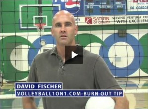 David Fischer Volleyball Burnout
