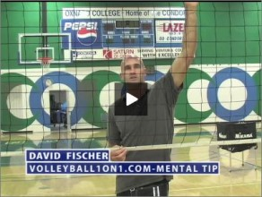 David Fischer Volleyball Mental