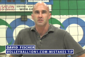 David Fischer Volleyball Mistakes