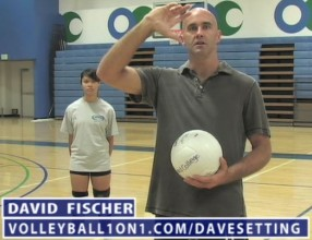 David Fischer Volleyball Setting for Beginners