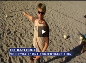 Ed Ratledge Beach Volleyball Transition