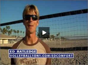 Ed Ratledge Volleyball Beach Comfort