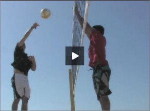 Eric Fonoimoana Beach Volleyball Blocking 3