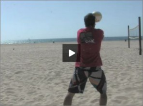 Eric Fonoimoana Beach Volleyball Transition