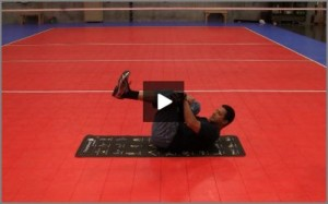 Eric Fonoimoana Volleyball Stretching - Piriformis Stretch