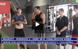 Final Review of Velocity Workout 2 - Jump & Landing Day With Chase Cameron